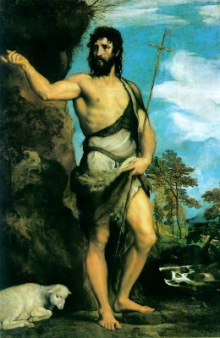 Image result for birth of st john the baptist