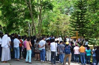Resulta ng larawan para sa pilgrimage to tagaytay