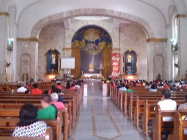 Image result for misa sa sta cruz church