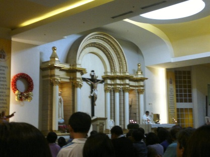 Image result for mass in sm mega mall chapel