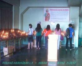 Image result for blessing of holy water in st jude manila